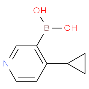 (4-Cyclopropylpyridin-3-yl)boronic acid