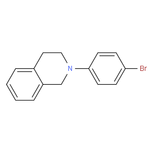 2-(4-Bromo-phenyl)-1,2,3,4-tetrahydro-isoquinoline|Acadechem Company