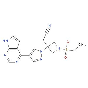 1-(Ethylsulfonyl)-3-[4-(7H-pyrrolo[2,3-d]pyriMidin-4-yl)-1H-pyrazol-1-yl]-3-azetidineacetonitrile