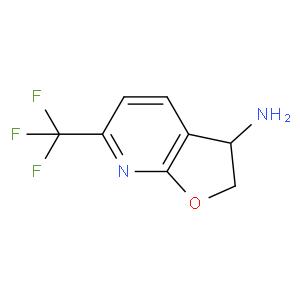 6-Trifluoromethyl-2,3-dihydro-furo[2,3-B]pyridin-3-ylamine