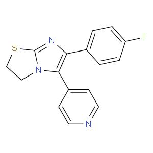 6-(4-fluorophenyl)-5-pyridin-4-yl-2,3-dihydroimidazo[2,1-b][1,3]thiazole