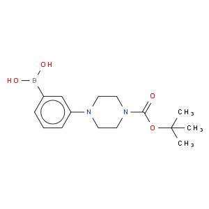 (3-[4-(tert-Butoxycarbonyl)piperazin-1-yl]phenyl)boronic acid