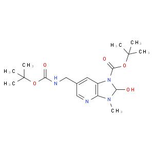 Tert-butyl 2-hydroxy-3-methyl-6-[[(2-methylpropan-2-yl)oxycarbonylamino]methyl]-2H-imidazo[4,5-b]pyr