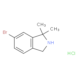 6-bromo-1,1-dimethyl-2,3-dihydro-1H-isoindole HCL