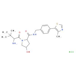 (2S,4R)-1-[(2S)-2-amino-3,3-dimethylbutanoyl]-4-hydroxy-N-[[4-(4-methyl-1,3-thiazol-5-yl)phenyl]meth
