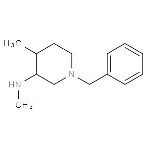 (3R,4S)-1-Benzyl-N,4-dimethylpiperidin-3-amine