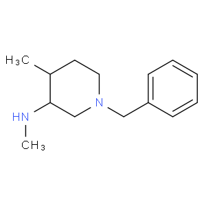 (3S,4S)-1-Benzyl-N,4-dimethylpiperidin-3-amine