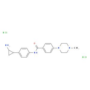 N-[4-[(1S,2R)-2-aminocyclopropyl]phenyl]-4-(4-methylpiperazin-1-yl)benzamide;dihydrochloride