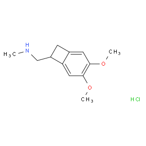 (1S)-4,5-Dimethoxy-1-[(methylamino)methyl]benzocyclobutane hydrochloride