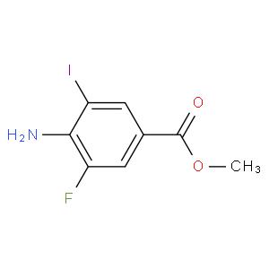 2-fluoro-6-iodo-4-(methoxycarbonyl)aniline