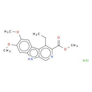 4-Ethyl-6,7-dimethoxy-9H-pyrido[3,4-b]indole-3-carboxylic acid methyl ester hydrochloride