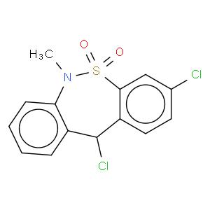 3,11-dichloro-6-methyl-11H-benzo[c][2,1]benzothiazepine 5,5-dioxide