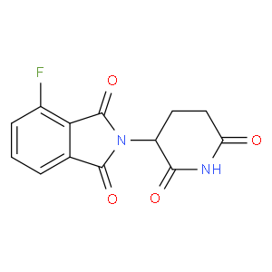 2-(2,6-dioxopiperidin-3-yl)-4-fluoroisoindoline-1,3-dione