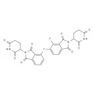 2-(2,6-dioxopiperidin-3-yl)-4-fluoroisoindoline-1,3-dione
