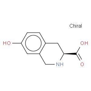 3-Isoquinolinecarboxylic acid, 1,2,3,4-tetrahydro-7-hydroxy-, (3S)-