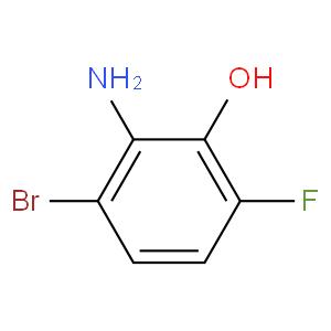 2-Amino-3-bromo-6-fluorophenol